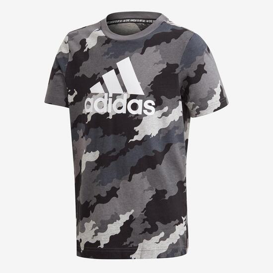 Camu  Jr Camiseta M/c  Alg.