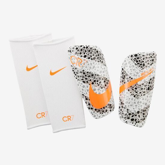 Optimismo Integrar Generacion  Nike Mercurial Lite CR7 - Blanco - Espinillera Fútbol   Sprinter