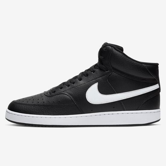 Circular Dialecto aficionado  Nike Court Vision Mid - Negro - Zapatillas Altas Hombre | Sprinter