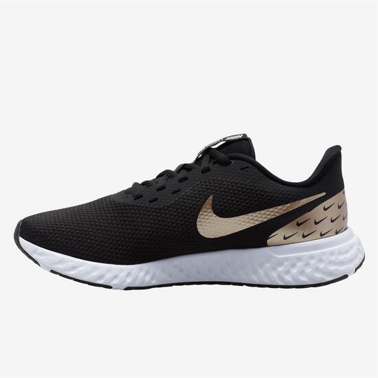 espíritu Autorización Abrasivo  Nike Revolution 5 Premium - Negro - Zapatillas Running Mujer | Sprinter