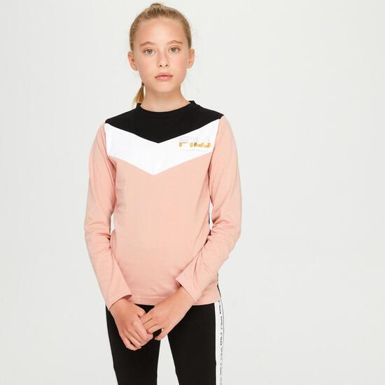 Aditi Jra Camiseta M/l Alg. Excl.