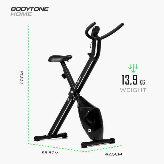 Bici Estática Xbike 4kg Bodytone