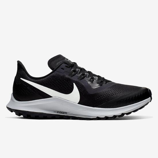 Nike Air Zoom Pegasus 36 - Negro - Zapatillas Trail Mujer ...