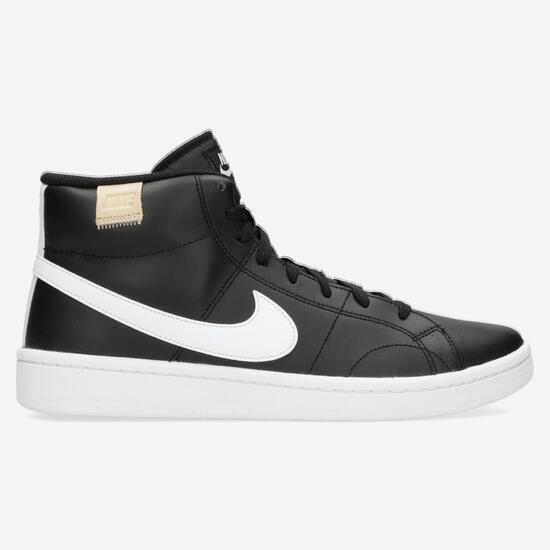 Contribuir Del Norte Primitivo  Nike Court Royale 2 - Preto - Sapatilhas Bota Homem | Sport Zone