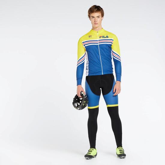Camisola De Ciclismo Fila Team