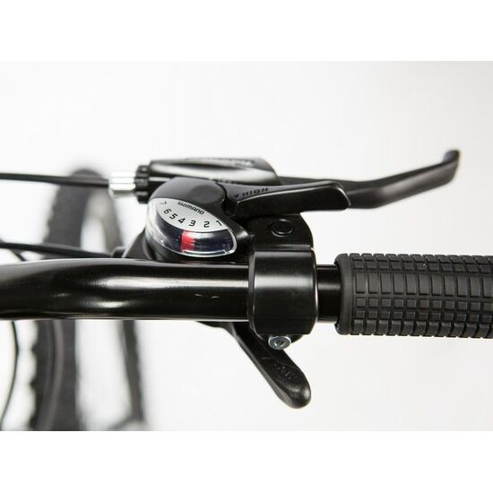 "Moma Bikes Bicicleta Montaña Shimano Fox 26"", Alu 21v, Doble Freno Disco, Susp. Delant"