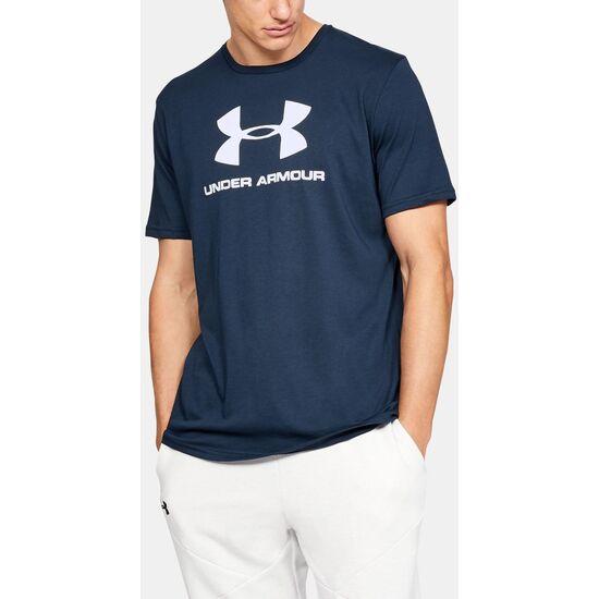 Camiseta Under Armour Sportstyle Logo Tee 1329590 azul