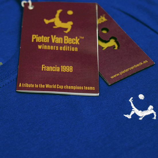 Camiseta Pieter Van Beck Winners France