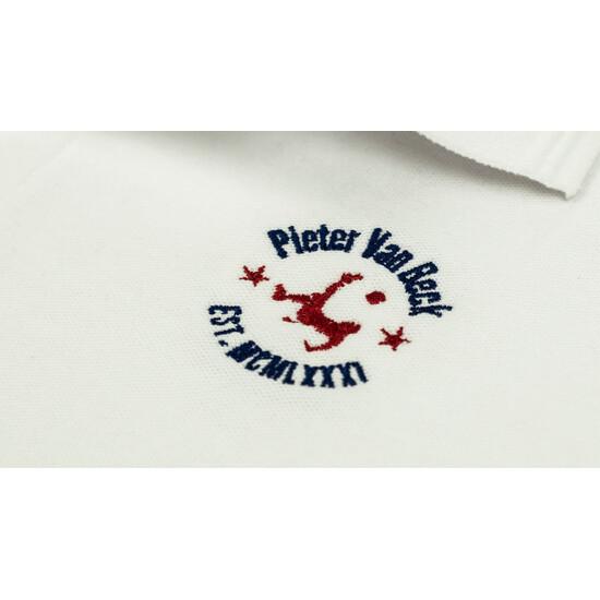 Polo Pieter Van Beck  Defense Jr White