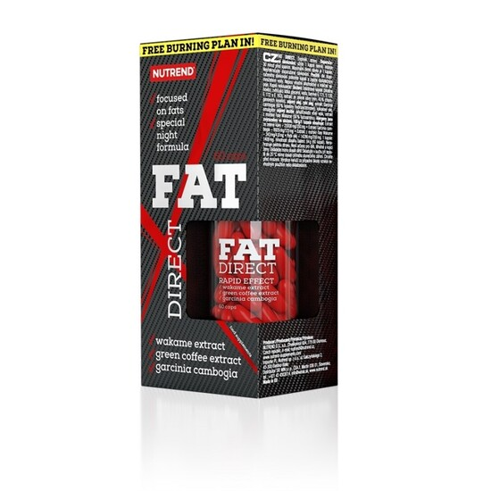 Fat Direct Noche - 60 Cápsulas Líquidas - Sin Sabor