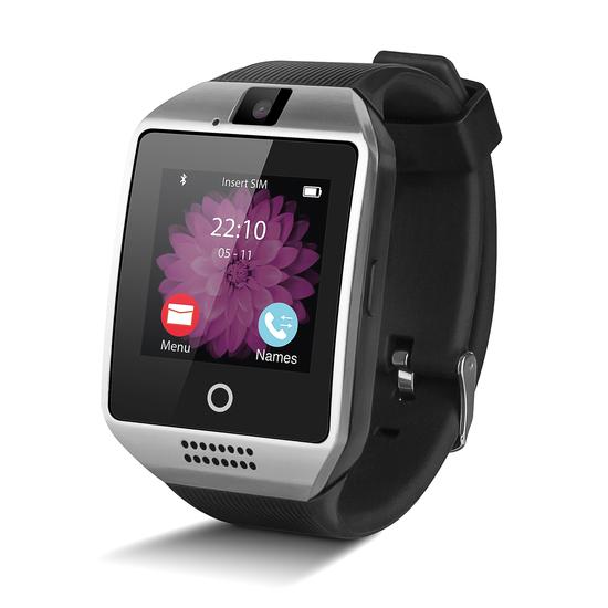 Reloj Inteligente Smartwatch Smartek Sw-842s Plata + 32gb Sd