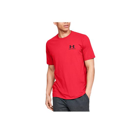 Camiseta Under Armour Sportstyle Lc Back Tee 1347880 600