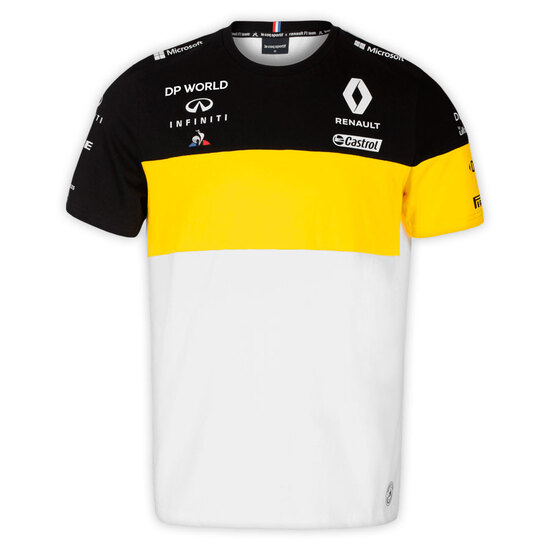 Camiseta Renault F1 Blanco 2020