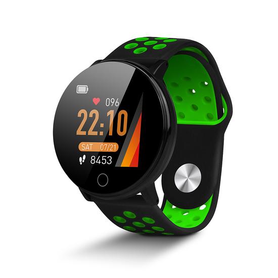 Reloj Inteligente Smartwatch Smartek Sw-590 Verde/negro