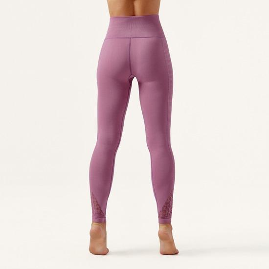 Malla De Mujer Mystic Born Living Yoga Color Rosa Sin Costuras