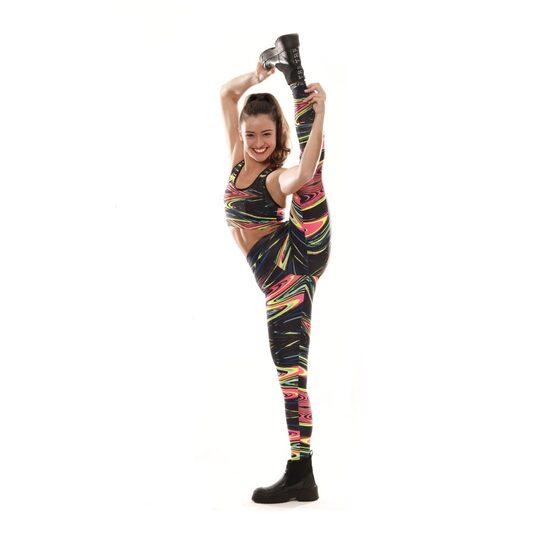 Leggings Con Estampado Psicodelico Audaz Fitness