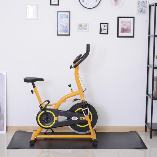 Homcom® Esterilla Para Aparatos De Entrenamiento Alfombra De Fitness Cinta De Correr Yoga Gimnasio P