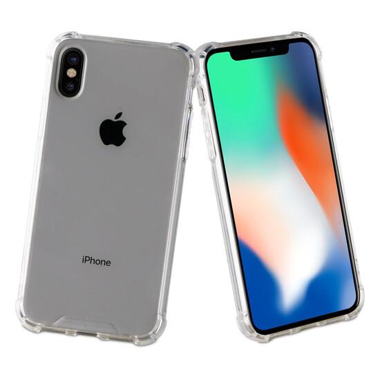 Muvit Pro Funda Cristal Bump Apple Iphone Xs/x Shockproof 2m Transparente