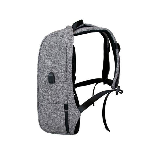 Mochila Antirrobo Bestlife Calpe Grey Porta Ordenador Y Tablet