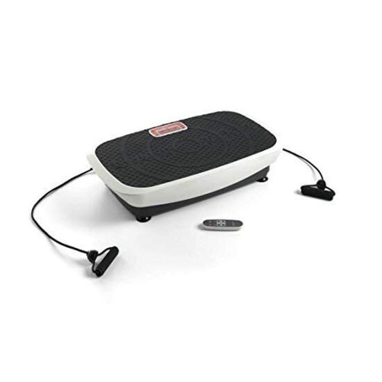 "Plataforma Vibratoria Oscilante, 50 Niveles, Pulsómetro Eco-de ""body Plate 3000"""