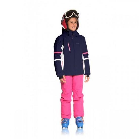 Chaqueta De Ski Soll Para Niñas Spirit Navy