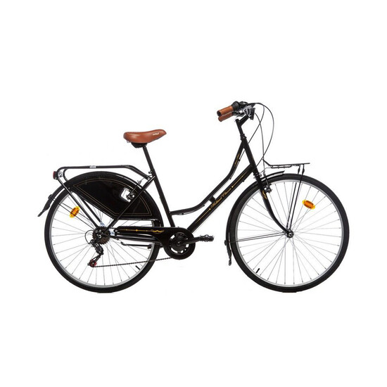 "Moma Bikes Bicicleta Paseo Shimano Holanda 28"", 6v. Sillin Confort"