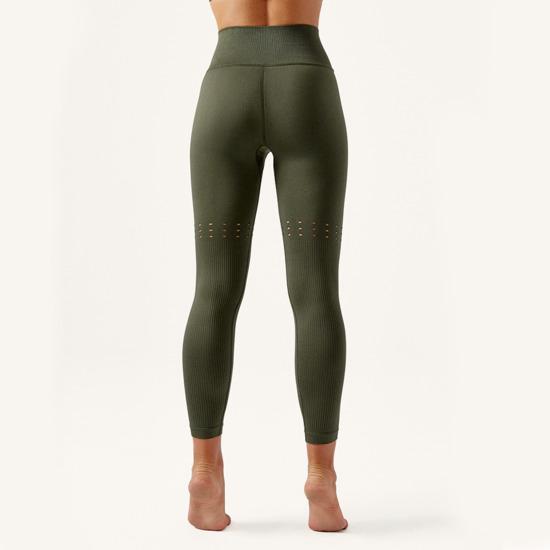 Malla De Mujer Hala Born Living Yoga Color Verde Sin Costuras