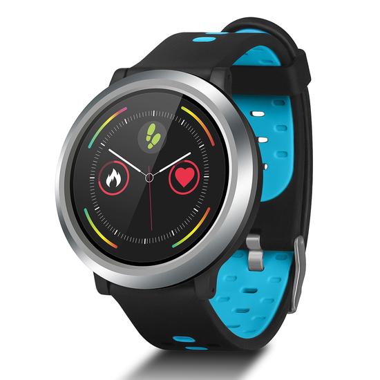 Reloj Inteligente Smartwatch Smartek Sw-720 Azul Claro