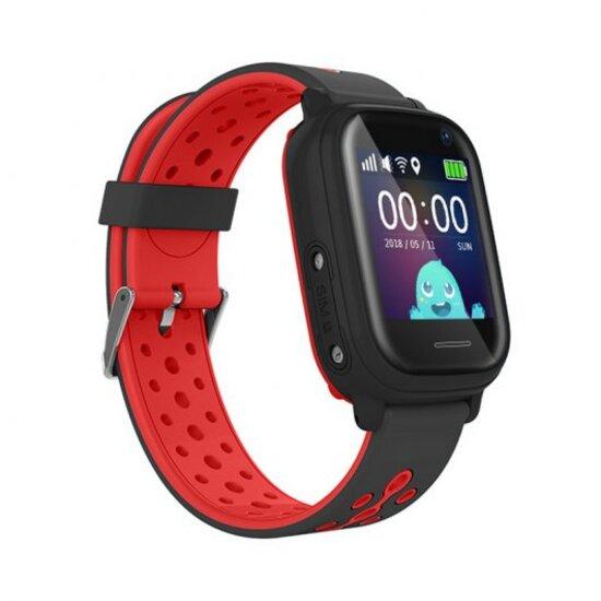 Leotec Smartwatch Allo Kids Gps Rojo