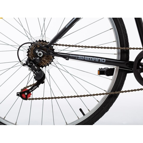 "Moma Bikes Bicicleta Paseo Mod280, 28"", Shimano 6v, Frenos V-brake Aluminio."
