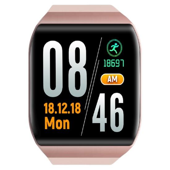 Reloj Inteligente Smartwatch Ip67 Rosa Oro