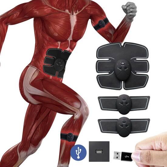 Electro Estimulador Muscular Inalámbrico Shaper Sh-2x