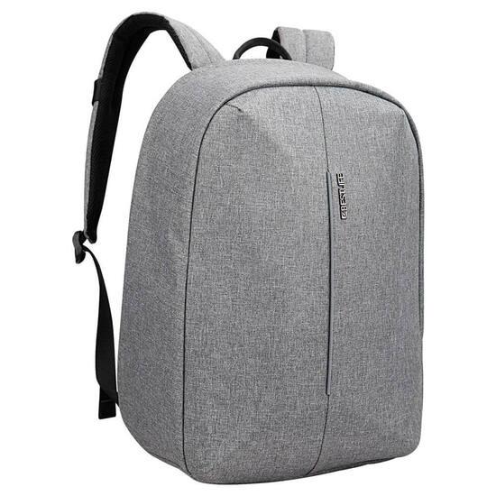 Mochila Antirrobo Bestlife Barinas Grey Porta Ordenador Y Tablet
