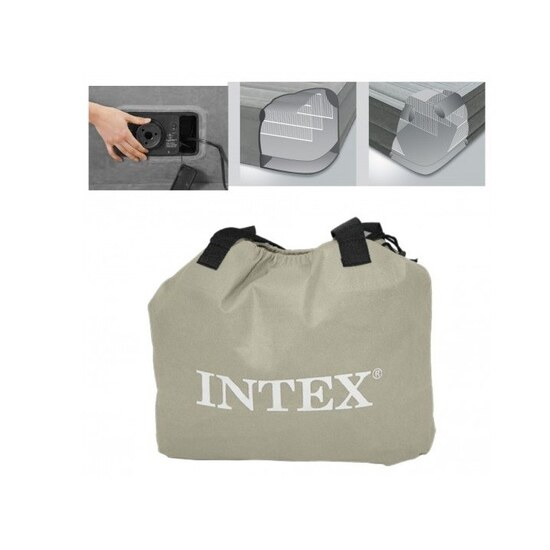Colchón Hinchable Intex Dura Beam Plus Comfortplush