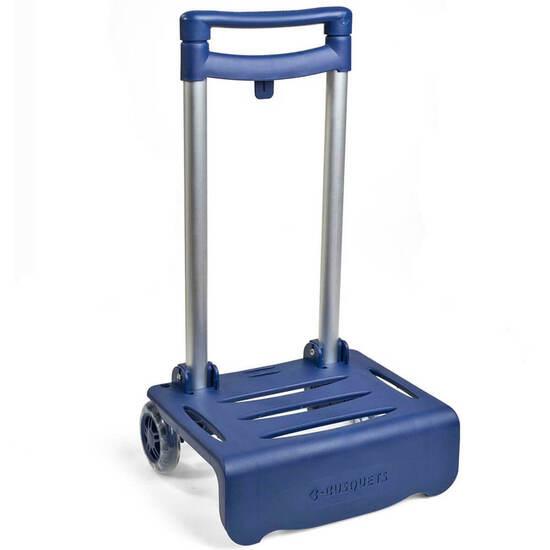 Carro Portamochilas Plegable Busquets Azul