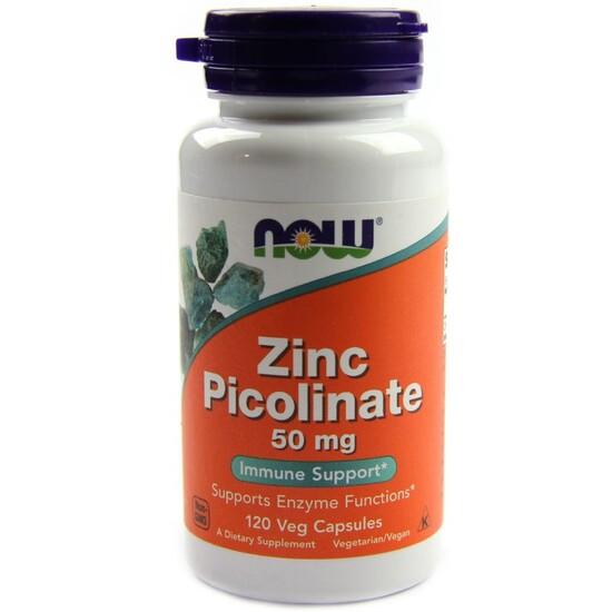 Picolinato De Zinc 50mg - 120vcaps - Sin Sabor
