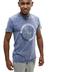 Camiseta Pieter Van Beck Crossbar Blue Denim