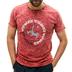 Camiseta Pieter Van Beck Crossbar Granate Denim