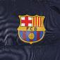Fc Barcelona - Chaleco Acolchado Oficial Con Cremallera