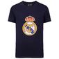 Real Madrid - Camiseta Oficial Para Niños - Con El Escudo Del Club