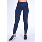 Leggings Liso Con Polar Azul Audaz Fitness