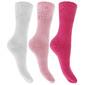 Calcetines Con Puño No Elástico Lisos Ricos En Algodón Universal Textiles(Paquete De 3)