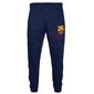 Fc Barcelona - Pantalón De Fitness Para Hombre - Forro Polar - Producto Oficial - Gris - Xl