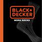 Pack 3 Pares De Calcetines Black&decker En Color Gris