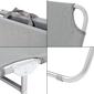 Tumbona Reclinable De Aluminio Tejido