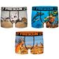 Pack 3 Calzoncillos Animal Print Freegun