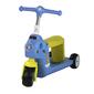 Patinete 2en1 Reversible Correpasillos Bicicleta Niños Color Azul