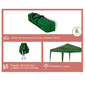 Carpa Wasabi Classic 3x3m De Aluminio Plegable Verde