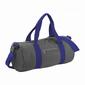 Bolsa Deportiva Lisa Modelo Varsity (20 Litros) (Paquete De 2) Bagbase (Gris)