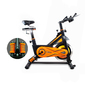 Bicicleta Spinning Alpine 8500. Inercia 25 Kg. Muelle Balanceo. Gridinlux.